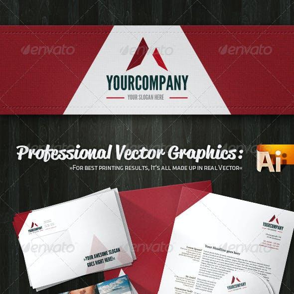 Professional Creative Agency Corporate Identity