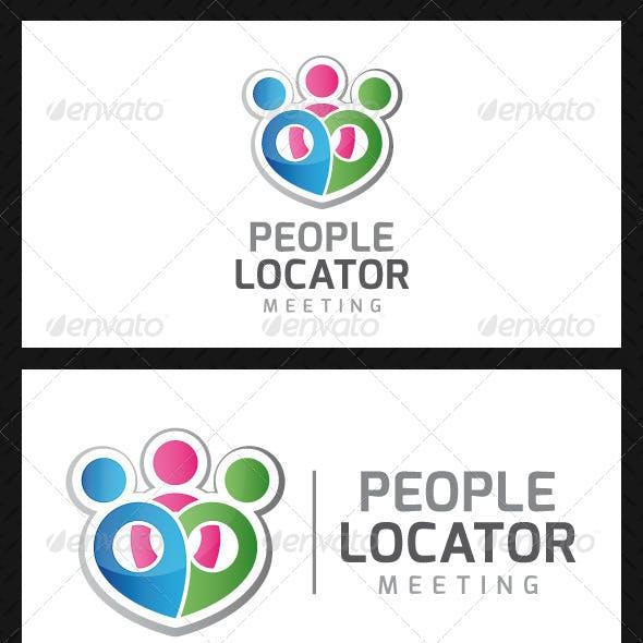 People Locator Logo Template