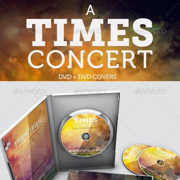 A Times Concert DVD and DVD COVER