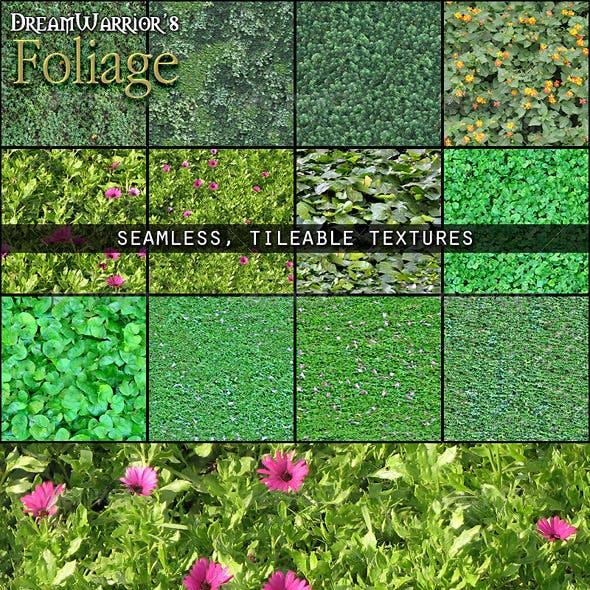 Foliage Seamless Texture Patterns