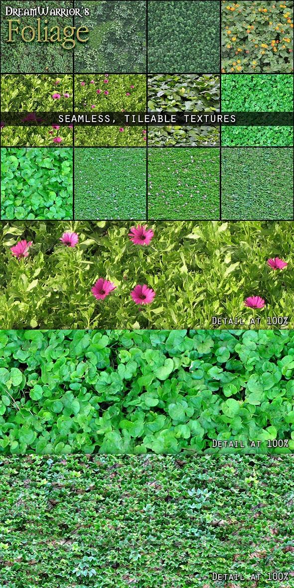 Foliage Seamless Texture Patterns - Textures