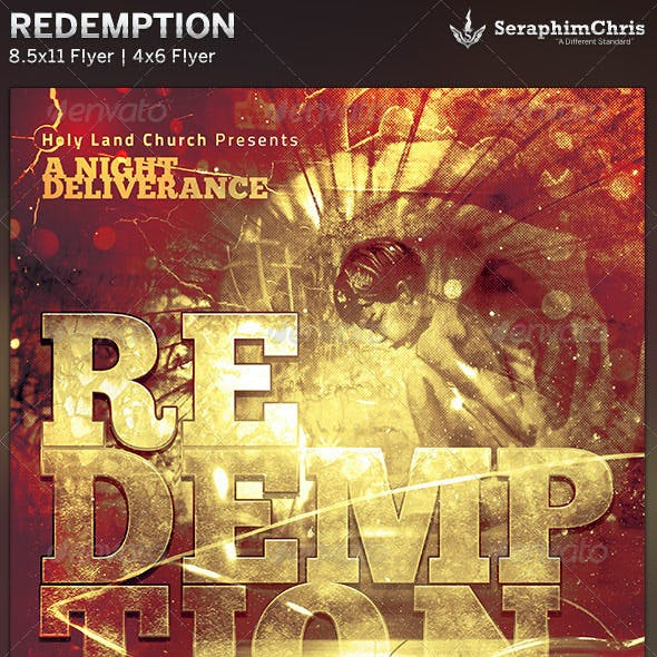 Redemption Church Flyer Template