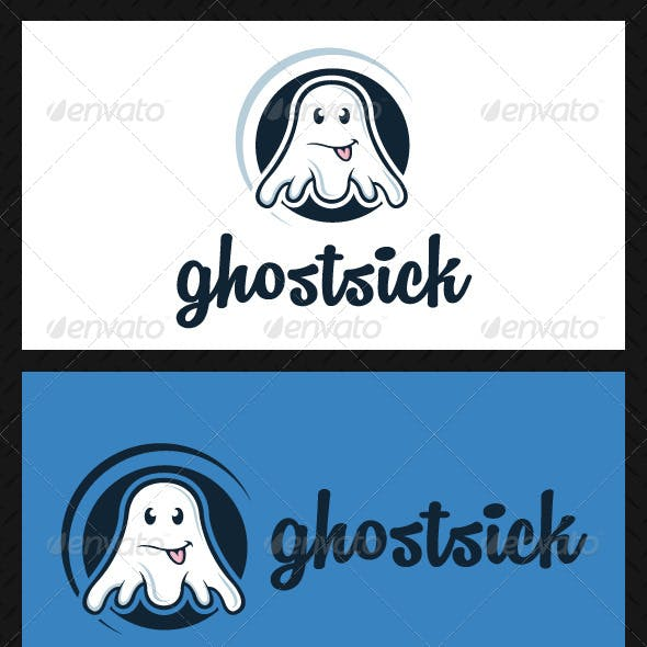 Ghost Logo Template