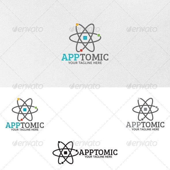 Apptomic - Logo Template