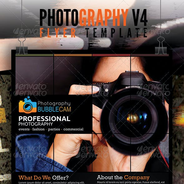 Photography Flyer v4