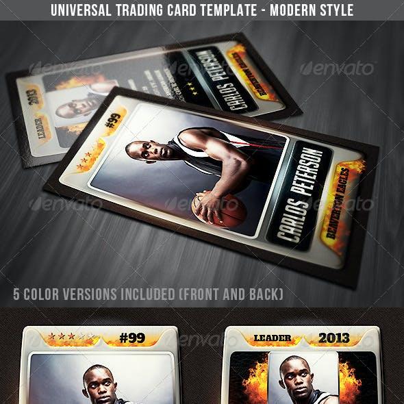 Universal Sport Trading Card 3