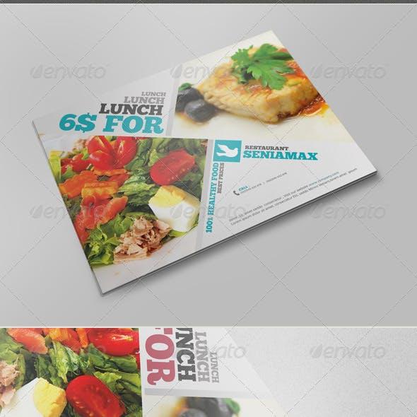 Healthy Food Flyer V.2