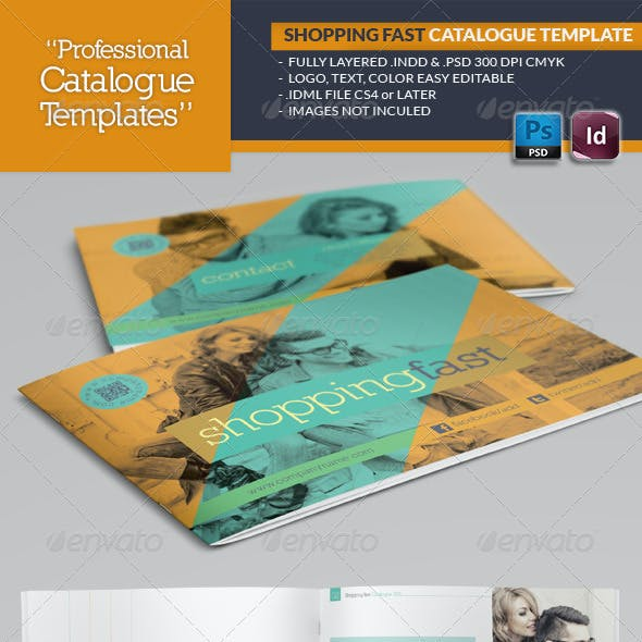 Shopping Fast Catalogue Template