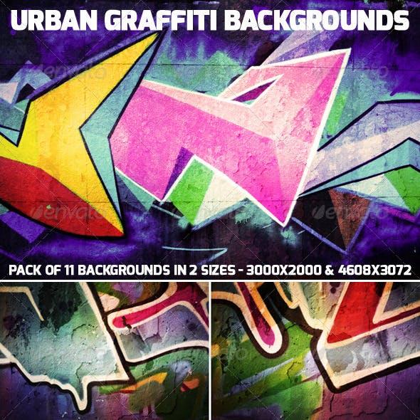 Urban Graffiti Backgrounds