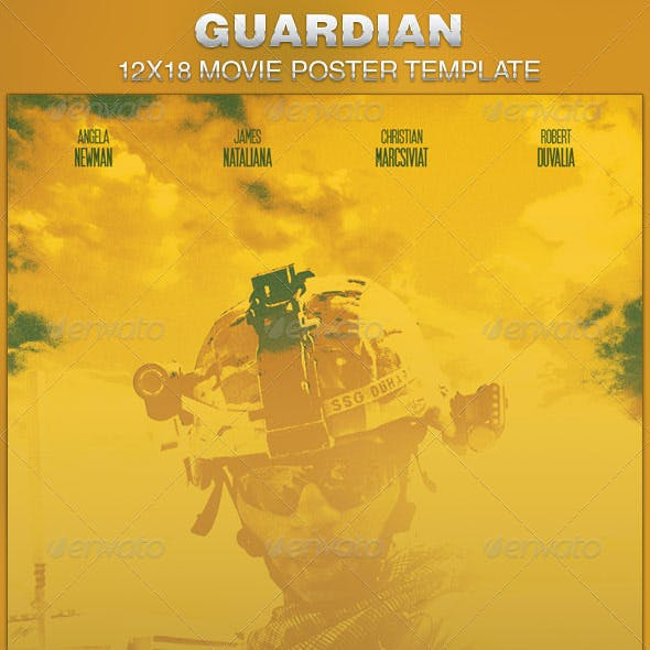 Guardian Movie Poster Template
