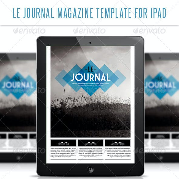 Le Journal Tablet Magazine Template