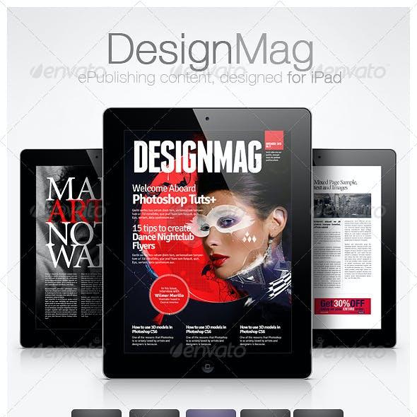 DesignMag iPad Magazine