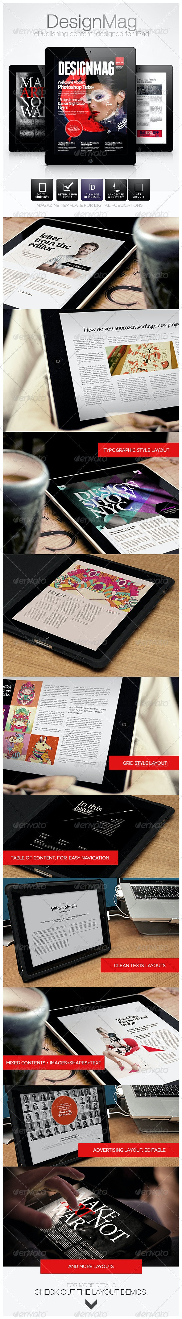 DesignMag iPad Magazine - Digital Magazines ePublishing