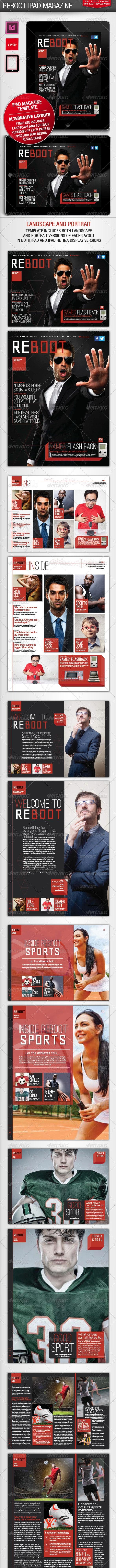 Reboot iPad Magazine - Digital Magazines ePublishing