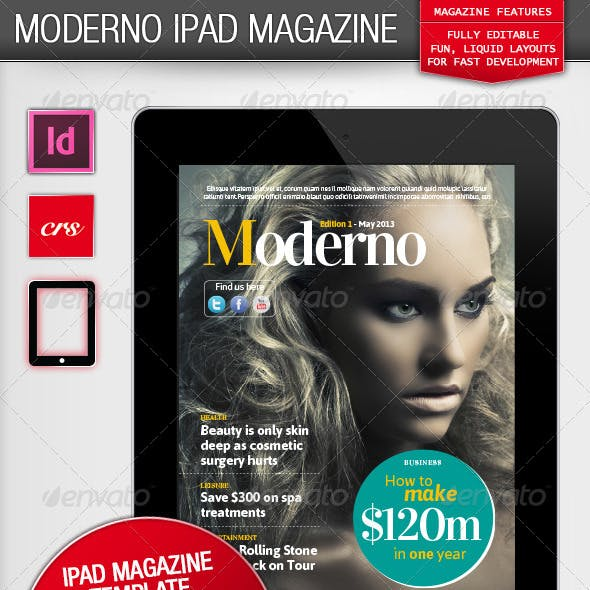 Moderno iPad Magazine