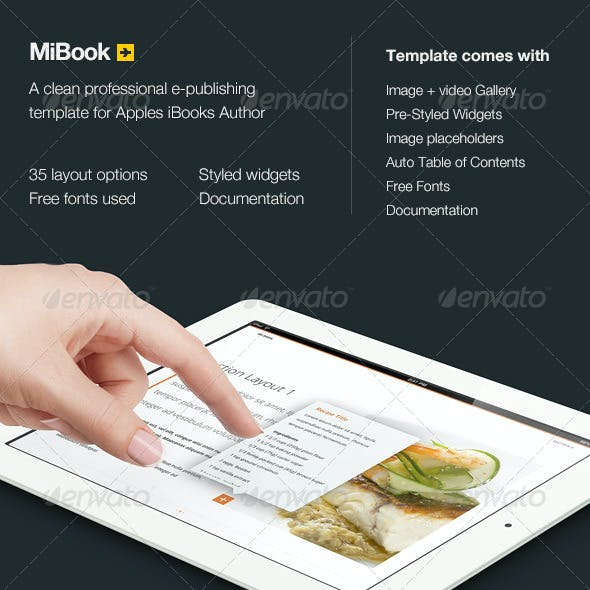 MiBook - e-publishing template