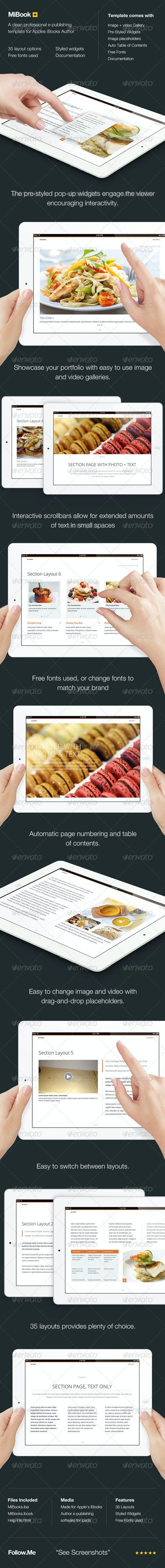 MiBook - e-publishing template - Digital Books ePublishing