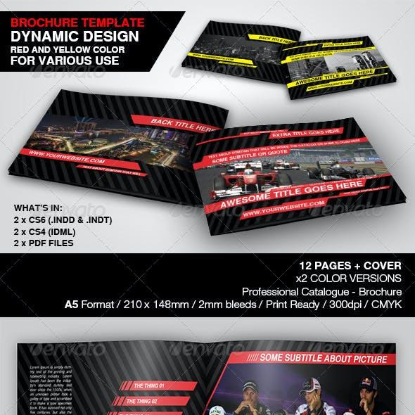 Dynamic Brochure Template