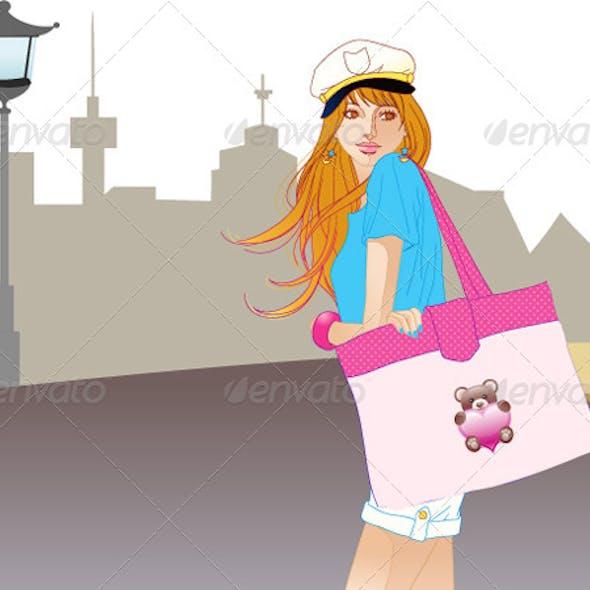 City Fashion Girl