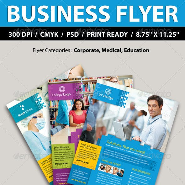 Corporate, College, Medical Business Promotion Fly
