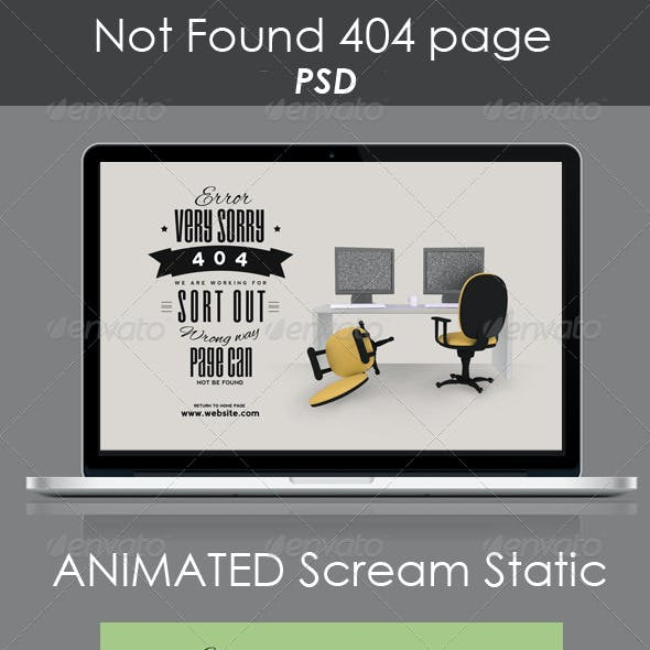 Not Found 404 Page
