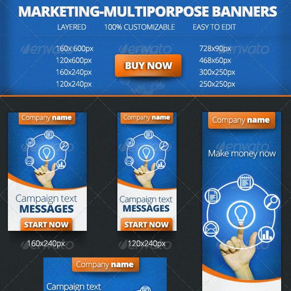 Marketing-Multiporpose Banners