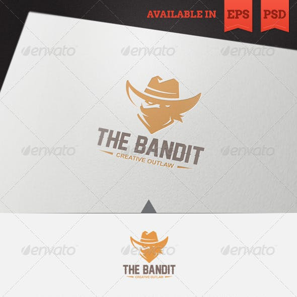 The Bandit Logo Template