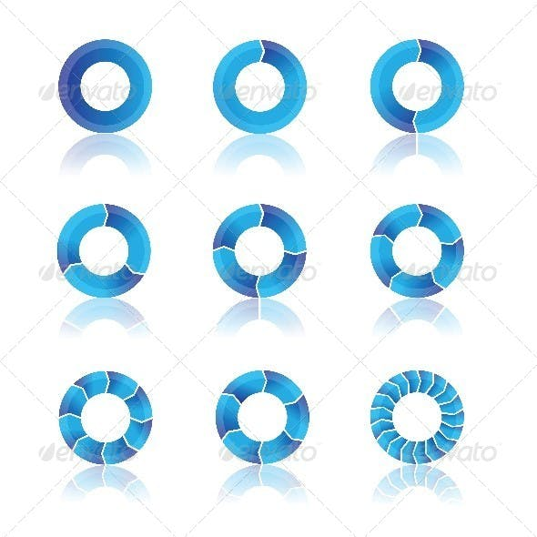 Blue Diagrams