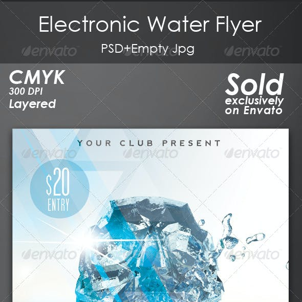 Electronic Water Flyer