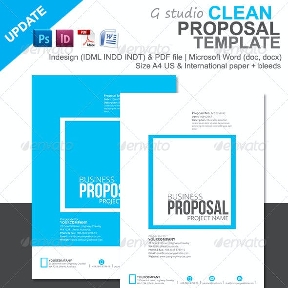 Gstudio Clean Proposal Template