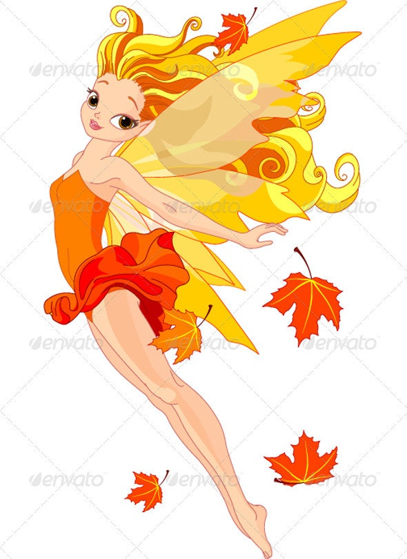 Autumn fairy - People Characters