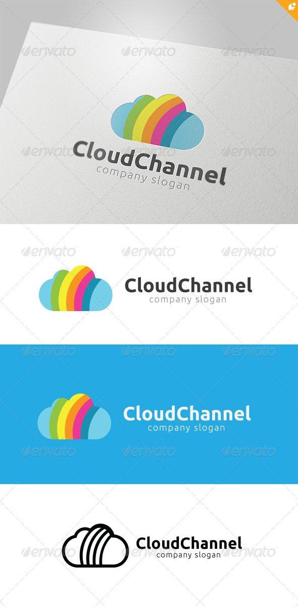 Cloud Channel Logo - Nature Logo Templates