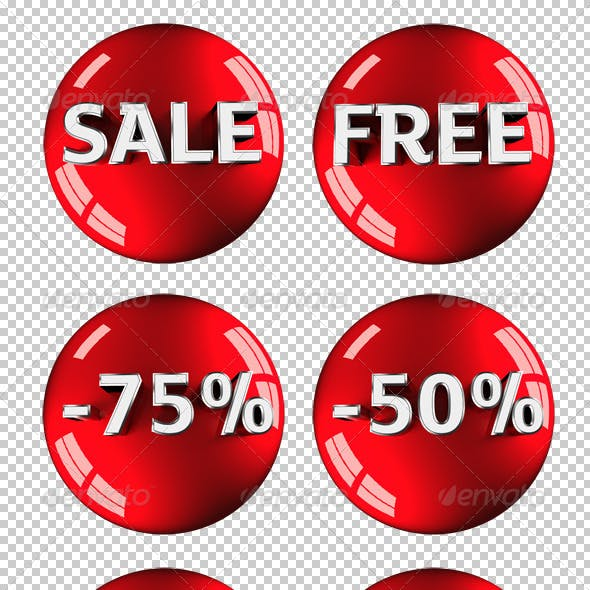 Sale | Free | 25 | 30 | 50 | 75 3D Graphics!