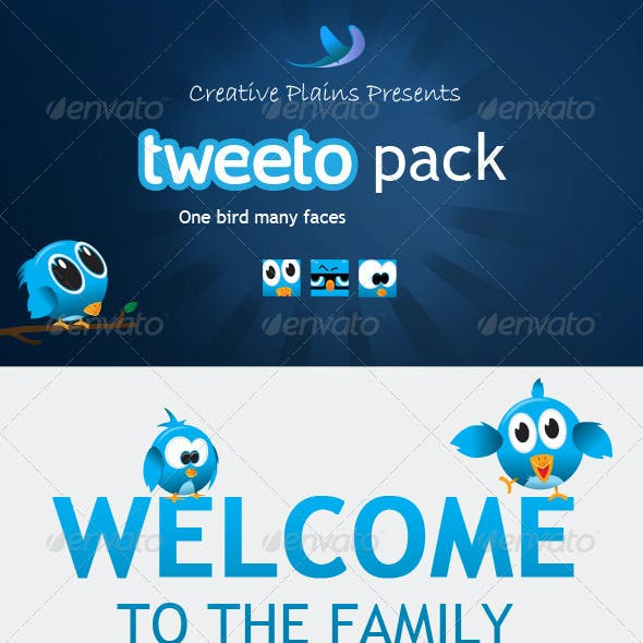 Tweeto Bird Pack