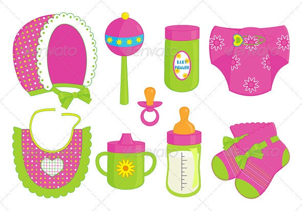 Accessories for baby girl - Man-made Objects Objects