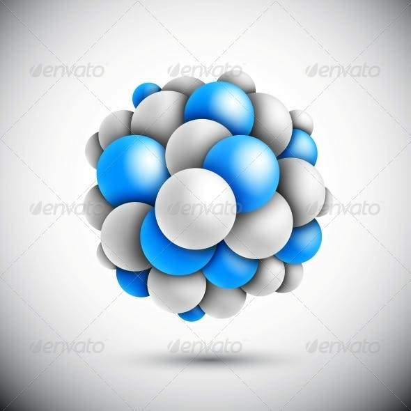Sphere in Form of the Molecule