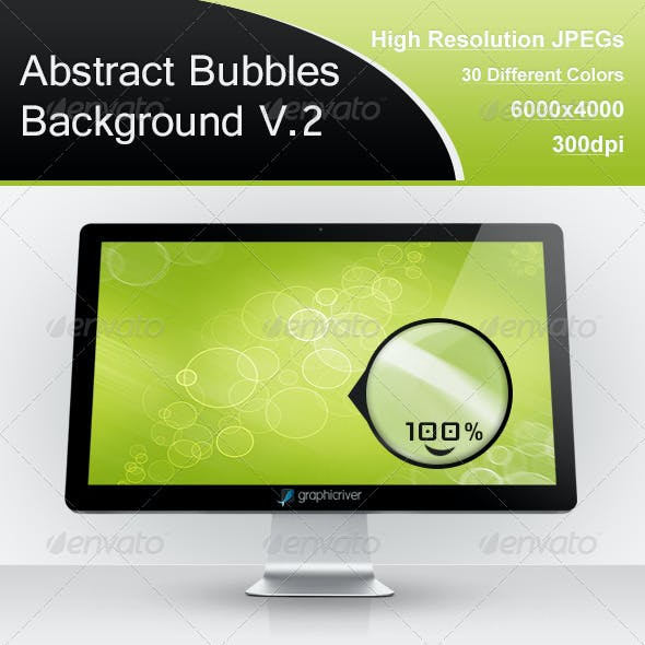 Abstract Bubbles Background V.2