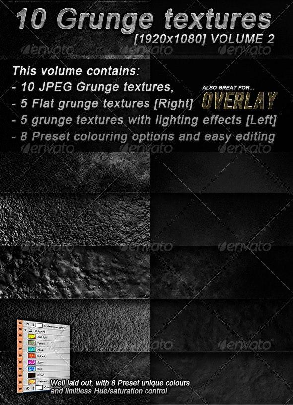 10 Hi-Res Grunge textures Volume 2 - Stone Textures