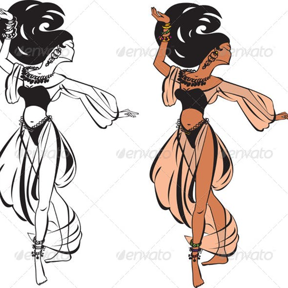 Arabic Belly Dance