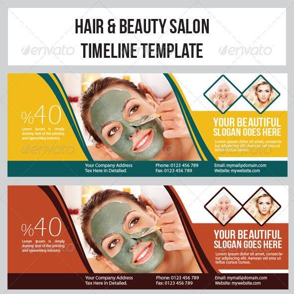 Hair & Beauty Salon  Timeline Template