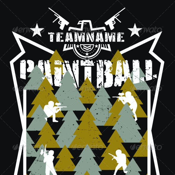 Paintball T-Shirt and Logo