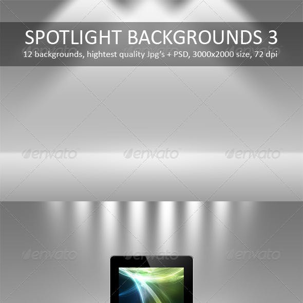12 Spotlight Backgrounds Pack 3