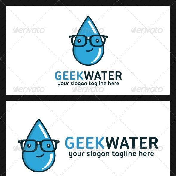 Geek Water Logo Template