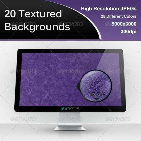 25 Textured Backgrounds
