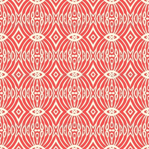 Seamless Pattern in Art Deco Style - Patterns Decorative