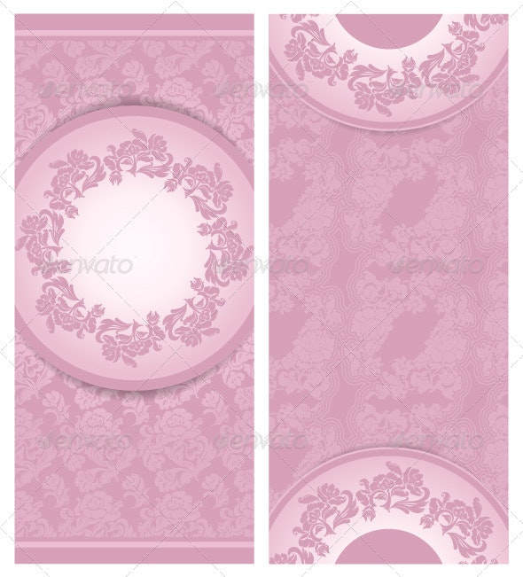 Invitation Wedding Greeting Card - Backgrounds Decorative