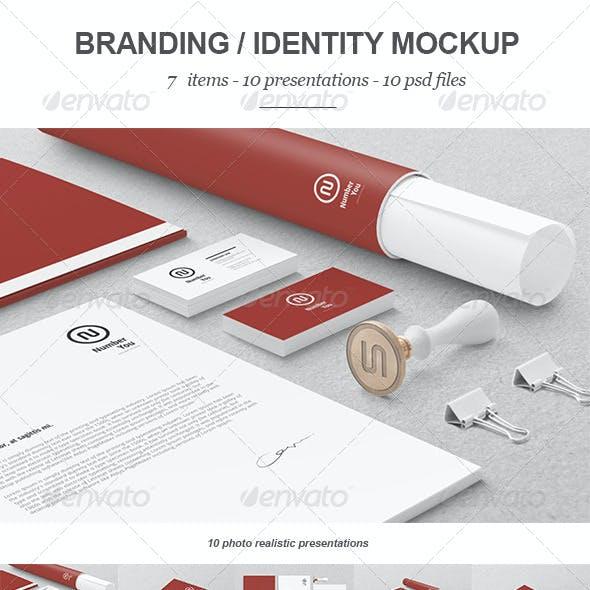 Branding / Identity Mock-up 3