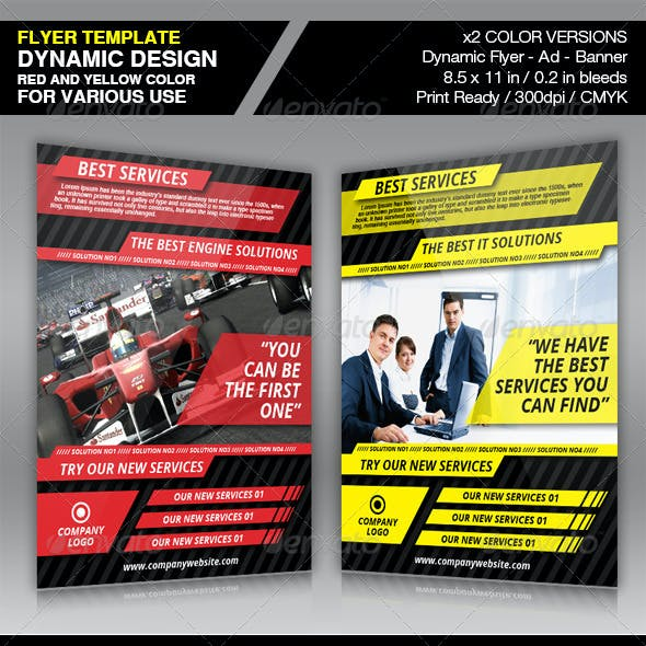 Dynamic Flyer Ad Template