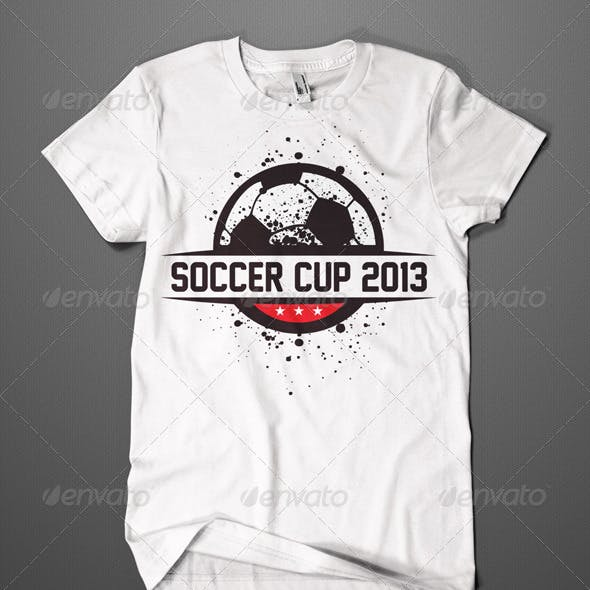 Soccer Cup T-Shirt Design