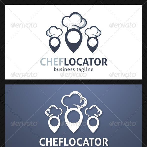 Chef Locator Logo Template